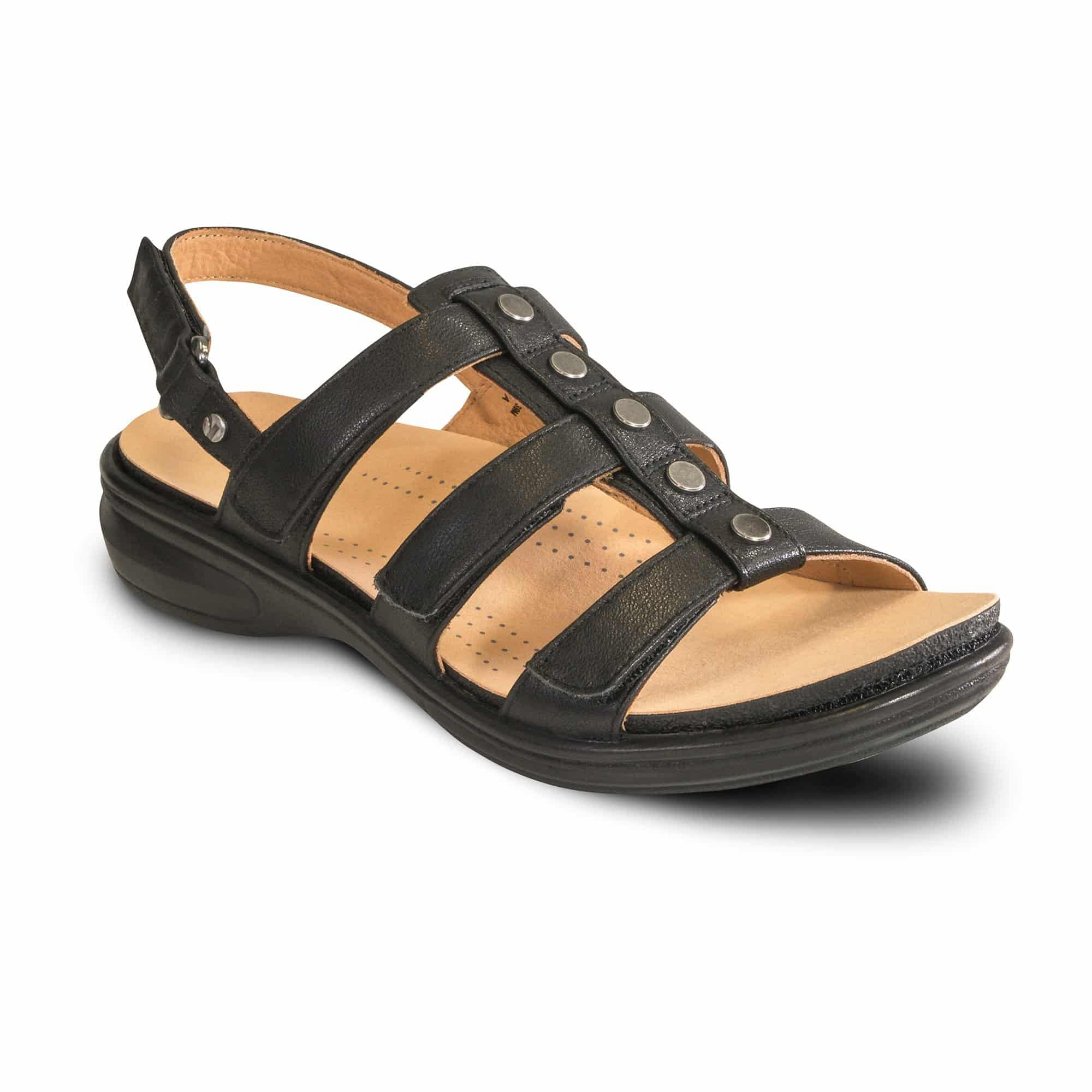 REVERE Toledo Sandals with Arch Support