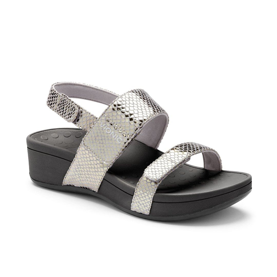 Footkaki | VIONIC Bolinas Wedge Sandals